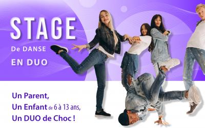 Stage de Danse : Un DUO de CHOC !