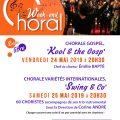 Week-end Choral les 24 & 25 mai 2019 à 20h30 Abbaye de Vignogoul