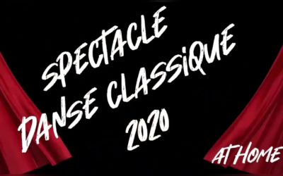 Gala Danse Classique «At Home» !